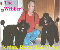 The Webber's Jordon, Richard and Myka