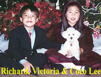 Richard, Victoria and Coco Lee