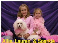 Allie, Lauren, & Sparkle Brown